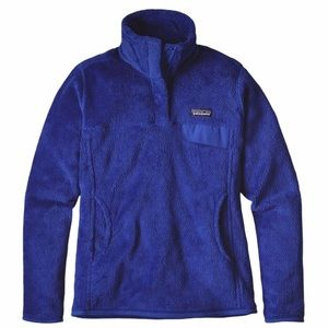 Patagonia Re-Tool Snap-T Fleece Pullover Blue xs